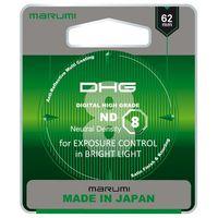 Filtry do obiektywów, Filtr Marumi DHG ND8 62mm (MND(8)62 DHG) Darmowy odbiór w 20 miastach!