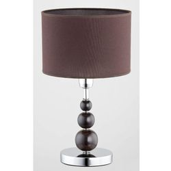 Lampa stołowa Alfa Pamela 18108 lampa nocna lampa oprawa 1x40W E27 brązowy