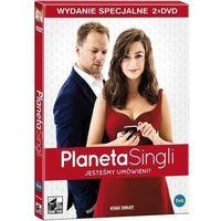 Filmy komediowe, Planeta Singli wydanie specjalne 2DVD - 35% rabatu na drugą książkę!