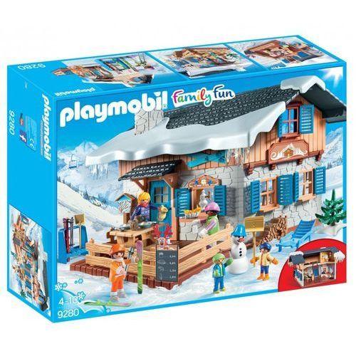 Klocki dla dzieci, Playmobil FAMILY FUN Chata górska 9280