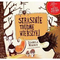 Książki dla dzieci, Strasznie trudne wierszyki + CD (opr. miękka)