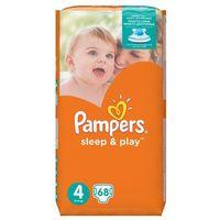 Pieluchy jednorazowe, PAMPERS Sleep&Play 4 MAXI 68 szt. (7-14 kg) JUMBO PACK – pieluszki jednorazowe - BEZPŁATNY ODBIÓR: WROCŁAW!