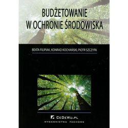 Budżetowanie w ochronie środowiska - Filipiak Beata, Kochański Konrad, Szczypa Piotr (opr. miękka)