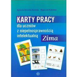 Karty pracy dla uczniów z niepełnosprawnością intelektualną Zima (opr. miękka)