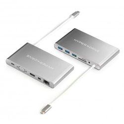 Hyper hub HyperDrive Ultimate USB-C - Srebrny, HY-GN30B-SILVER