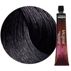 Loreal Majirel | Trwała farba do włosów - kolor 2.10 bardzo ciemny brąz popielaty intensywny 50ml