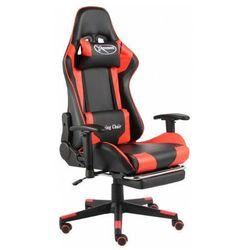 Czerwono-czarny fotel ergonomiczny dla gracza - Divinity