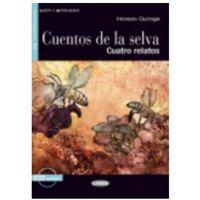 Książki do nauki języka, Cuentos de la selva + CD. Poziom A2 (opr. miękka)