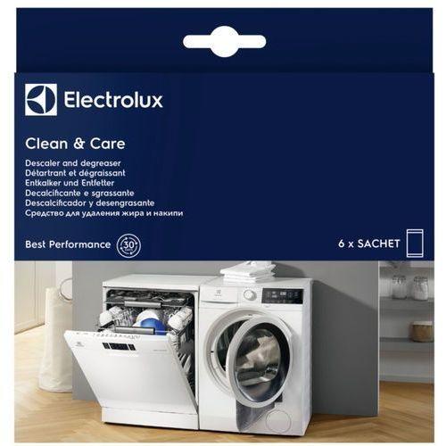Rozcieńczalniki i rozpuszczalniki, Odkamieniacz i Odtłuszczacz ELECTROLUX do pralek i zmywarek (6 sztuk)