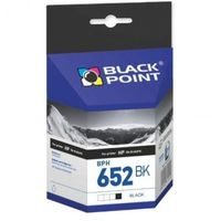 Tusze do drukarek, Tusz BPH652BK Zamiennik HP F6V25AE Tusz BLACK POINT