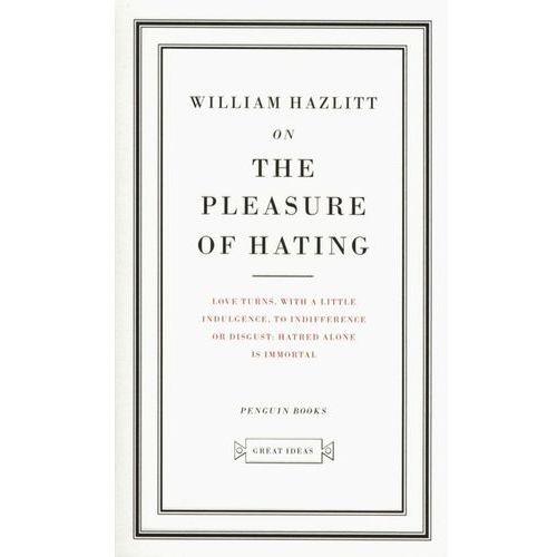 Książki do nauki języka, On the Pleasure of Hating (opr. miękka)