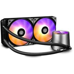 Chłodzenie wodne procesora DEEPCOOL Castle 240 RGB DP-GS-H12L-CSL240RGB