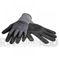 Rękawice robocze DEDRA BH1006R09 Czarno-szary (rozmiar L)