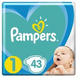 Pampers Pieluchy Newborn 1 2-5 kg 43 szt- natychmiastowa wysyłka, ponad 4000 punktów odbioru!