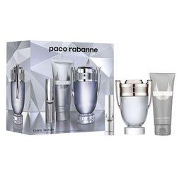 Paco Rabanne Invictus zestaw EDT 100 ml + żel p/p 100 ml + EDT 10 ml