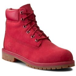 Trapery TIMBERLAND - 6 In Premium Wp Boot A13HV/TB0A13HV6261 Red