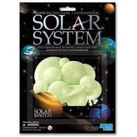 Pozostałe zabawki, 4M Glowing System Słoneczny 3D