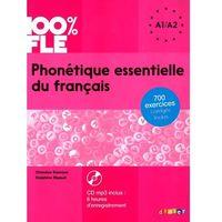 Książki do nauki języka, Phonetique Essentielle du Francais + CD. Poziom A1/A2 (opr. miękka)