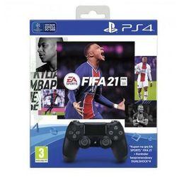 SONY DualShock 4 + FIFA 21 + PS+14dni