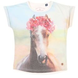 TOM TAILOR Koszulka mieszane kolory / biały