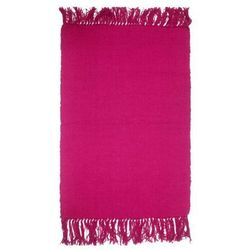 Dywanik 50 x 80 cm różowy