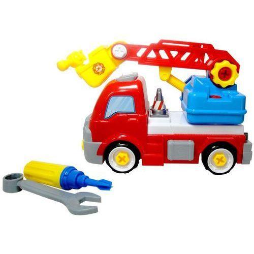 Pozostałe zabawki edukacyjne, Zabawka SWEDE Ciężarówka do skręcania G1149
