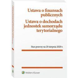 Ustawa o finansach publicznych ustawa o dochodach jednostek samorządu terytorialnego