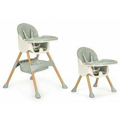 Fotelik do karmienia, krzesełko, 2w1, ecotoys, pojemnik, zielone