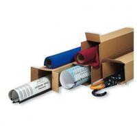 Przybory do pakowania, Tuba wysyłkowa kwadratowa, 3-warstwa, 1000x100x100 mm, 30 szt