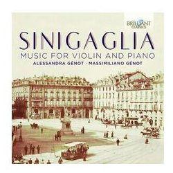 Sinigaglia: Music For Violin & Piano - Dostawa 0 zł