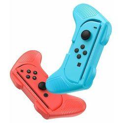 Baseus zestaw 2x nakładka na Joy-Con joystick pad do Nintendo Switch czerwony i niebieski (GMSWC-93) - Czerwono-niebieski
