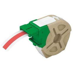 Kaseta z samoprz.poliestrową taśmą 12mm czerw 10m 7015-00-25 LEITZ ICON