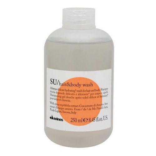 Kosmetyki po opalaniu, Davines SU Citrus Myrtifolia szampon po opalaniu do ciała i włosów (Aftersun Delicate Hydrating Wash for Hair and Body) 250 ml