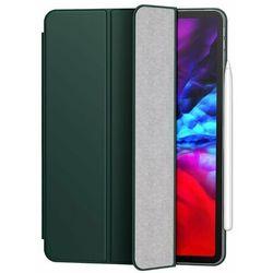 Baseus magnetyczne bezramkowe etui Smart Sleep z podstawką do iPad Pro 12,9'' 2020 zielony (LTAPIPD-FSM06) - iPad Pro 12.9'' 2020