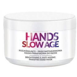 Farmona HANDS SLOW AGE Rozjaśniająco–przeciwstarzeniowa maska parafinowa do dłoni