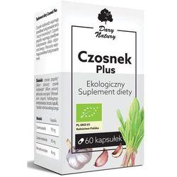 Czosnek Plus Eko 60 Kapsułek - Sulement Diety - Dary Natury