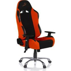 Krzesło biurowe GS RACEMASTER RS Series - czarno-pomarańczowe