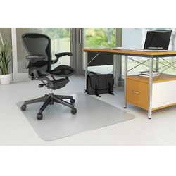 Mata pod krzesło Q-CONNECT, na podłogi twarde, 120x90cm, prostokątna