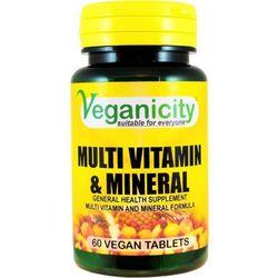 Multiwitamina + minerały 60 tabletek Veganicity