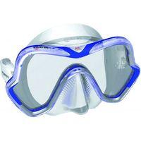 Maski, płetwy i fajki, Maska do nurkowania MARES One Vision Niebiesko-przezroczysty