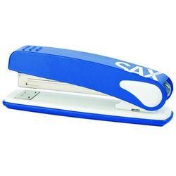 Zszywacz SAXDesign 249 paperbox, zszywa do 25 kartek, niebieski