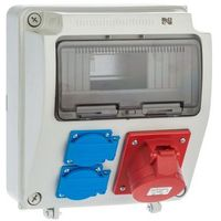 Rozdzielnice, Rozdzielnica elektryczna bez wyposażenia RS 1 /9 6231 - 00 / 2 X 2P + Z 3P + N + Z 16A ELEKTRO-PLAST