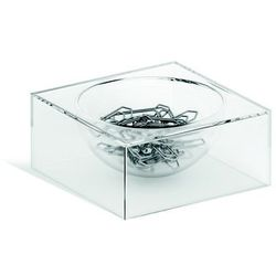Pojemnik na spinacze Durable Cubo transparent 7723-19