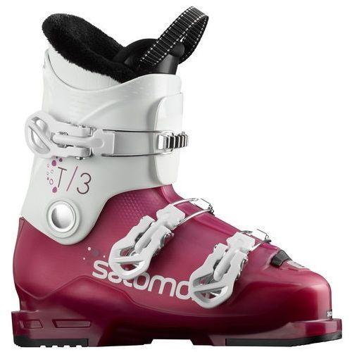Buty narciarskie dla dzieci, SALOMON T3 RT GIRLY ROSE - buty narciarskie R. 24/24,5