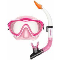 Maski, płetwy i fajki, Maska z fajką do nurkowania dla dzieci Waimea