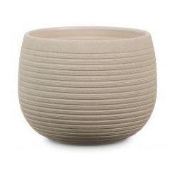 Okrągła osłonka ceramiczna 744 taupe szarobrązowy kamień 24