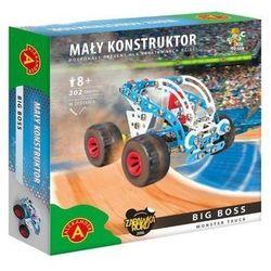 Mały konstruktor Monster Truck - Big Boss ALEX