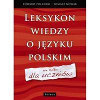 Językoznawstwo, Leksykon wiedzy o języku polskim (opr. twarda)