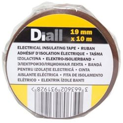 Taśma izolacyjna Diall PCV 19 mm x 10 m brązowa