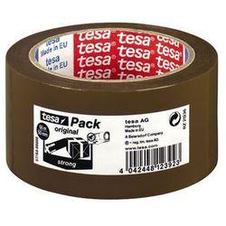 TESA Taśma pakowa PP klej akryl 50mmx66m, brązowa
